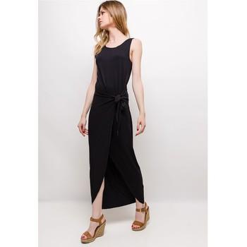 tekstylia Damskie Sukienki krótkie Fashion brands ERMD-1682-NEW-NOIR Czarny