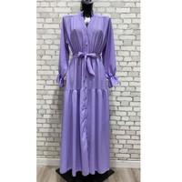 tekstylia Damskie Sukienki długie Fashion brands 2155-LILAS Liliowy