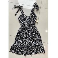 tekstylia Damskie Sukienki krótkie Fashion brands 5165-NOIR Czarny