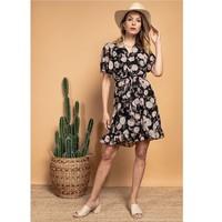 tekstylia Damskie Sukienki krótkie Fashion brands 2145A-NOIR Czarny