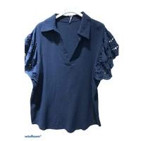 tekstylia Damskie Topy / Bluzki Fashion brands 310311-NAVY Marine