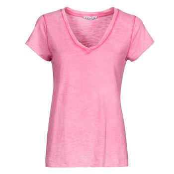 tekstylia Damskie Topy / Bluzki Fashion brands 029-COEUR-FUCHSIA Fuksja