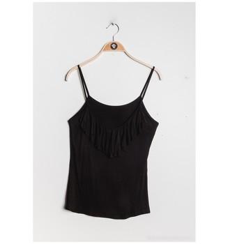 tekstylia Damskie Topy / Bluzki Fashion brands D852-BLACK Czarny