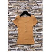 tekstylia Damskie Topy / Bluzki Fashion brands HS-2863-BROWN Brązowy
