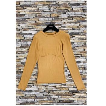 tekstylia Damskie Topy / Bluzki Fashion brands HD-2813-N-BROWN Brązowy