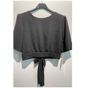 tekstylia Damskie Topy / Bluzki Fashion brands 5172-BLACK Czarny