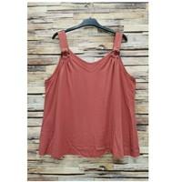 tekstylia Damskie Topy / Bluzki Fashion brands 3841-RASPBERRY Różowy