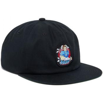Dodatki Męskie Czapki z daszkiem Huf Cap chun-li snapback hat Czarny