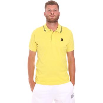 tekstylia Męskie Koszulki polo z krótkim rękawem Refrigiwear RM0T24000PX9032 Żółty