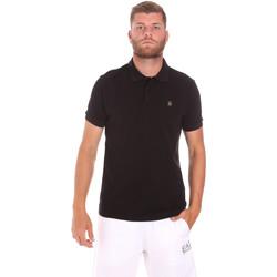 tekstylia Męskie Koszulki polo z krótkim rękawem Refrigiwear RM0T25900PQ9002 Czarny