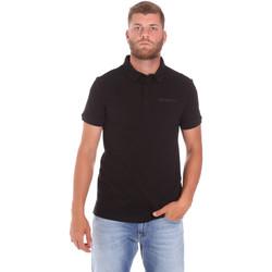 tekstylia Męskie Koszulki polo z krótkim rękawem Trussardi 52T00488-1T003603 Czarny