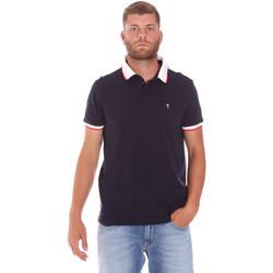 tekstylia Męskie Koszulki polo z krótkim rękawem Trussardi 52T00491-1T003600 Niebieski