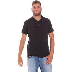 tekstylia Męskie Koszulki polo z krótkim rękawem Lumberjack CM45940 017EU Czarny