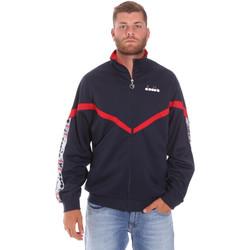 tekstylia Męskie Bluzy dresowe Diadora 502176080 Niebieski