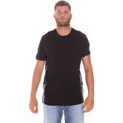 tekstylia Męskie T-shirty z krótkim rękawem Diadora 502176631 Czarny