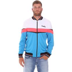 tekstylia Męskie Bluzy dresowe Diadora 102175669 Niebieski