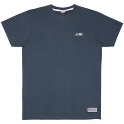 tekstylia Męskie T-shirty z krótkim rękawem Jacker Classic logo Niebieski
