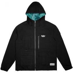 tekstylia Męskie Kurtki krótkie Jacker Money makers jacket Czarny