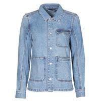 tekstylia Damskie Kurtki jeansowe Vero Moda VMSMILLA Niebieski