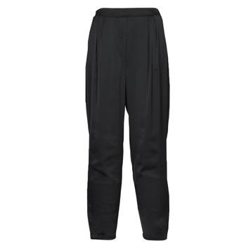 tekstylia Damskie Spodnie z lejącej tkaniny / Alladynki Vero Moda VMKYRA Czarny