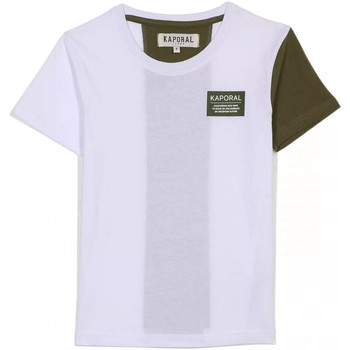 tekstylia Dziecko T-shirty z krótkim rękawem Kaporal MINOR Biały