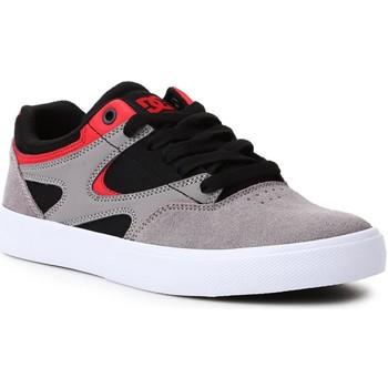 Buty Męskie Buty skate DC Shoes Buty lifestylowe DC Kalis Vulc ADJS300569-XKSR czarny, szary, czerwony