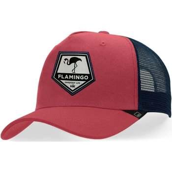 Dodatki Czapki z daszkiem Hanukeii Flamingo Czerwony