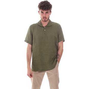 tekstylia Męskie Koszule z krótkim rękawem Sseinse CE660SS Zielony