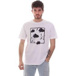 tekstylia Męskie T-shirty z krótkim rękawem Sseinse TE1818SS Biały