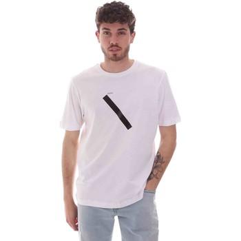 tekstylia Męskie T-shirty z krótkim rękawem Sseinse TE1820SS Biały