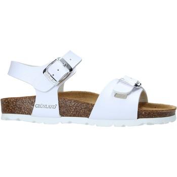 Buty Dziecko Sandały Grunland SB1569 Biały