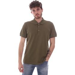 tekstylia Męskie Koszulki polo z krótkim rękawem Navigare NV82108 Zielony