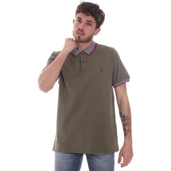 tekstylia Męskie Koszulki polo z krótkim rękawem Navigare NV82125 Zielony