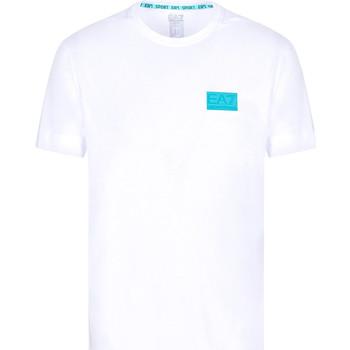 tekstylia Męskie T-shirty z krótkim rękawem Ea7 Emporio Armani 3KPT50 PJAMZ Biały
