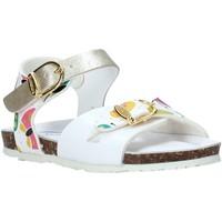 Buty Dziewczynka Sandały Bionatura CHIARA Biały