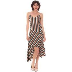 tekstylia Damskie Sukienki długie Trussardi 56D00514-1T005182 Brązowy