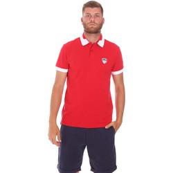 tekstylia Męskie Koszulki polo z krótkim rękawem Ea7 Emporio Armani 3KPF07 PJ04Z Czerwony