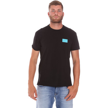 tekstylia Męskie T-shirty z krótkim rękawem Ea7 Emporio Armani 3KPT50 PJAMZ Czarny