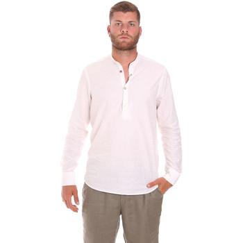 tekstylia Męskie Koszule z długim rękawem Sseinse CE611SS Biały