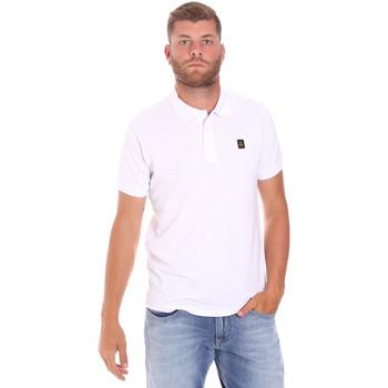tekstylia Męskie Koszulki polo z krótkim rękawem Refrigiwear RM0T25900PQ9002 Biały