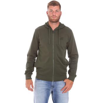 tekstylia Męskie Bluzy Ea7 Emporio Armani 8NPM03 PJ05Z Zielony