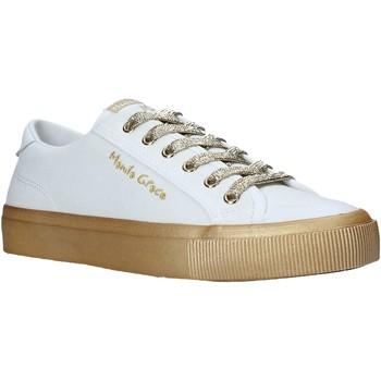 Buty Damskie Trampki niskie Manila Grace S634CU Biały