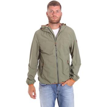 tekstylia Męskie Kurtki krótkie Lumberjack CMB3223 001EU Zielony