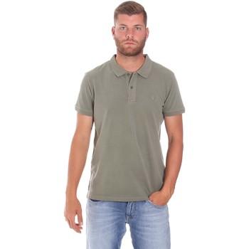 tekstylia Męskie Koszulki polo z krótkim rękawem Lumberjack CM45940 017EU Zielony