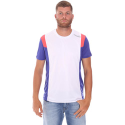 tekstylia Męskie T-shirty z krótkim rękawem Diadora 102175719 Biały