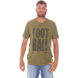 tekstylia Męskie T-shirty z krótkim rękawem Diadora 102175854 Zielony