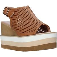 Buty Damskie Sandały Onyx S20-SOX757 Brązowy