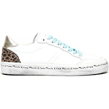 Buty Damskie Trampki niskie Manila Grace S640CU Biały