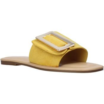 Buty Damskie Klapki Gold&gold A21 GJ551 Żółty