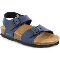 Buty Dziecko Sandały Grunland SB1206 Niebieski